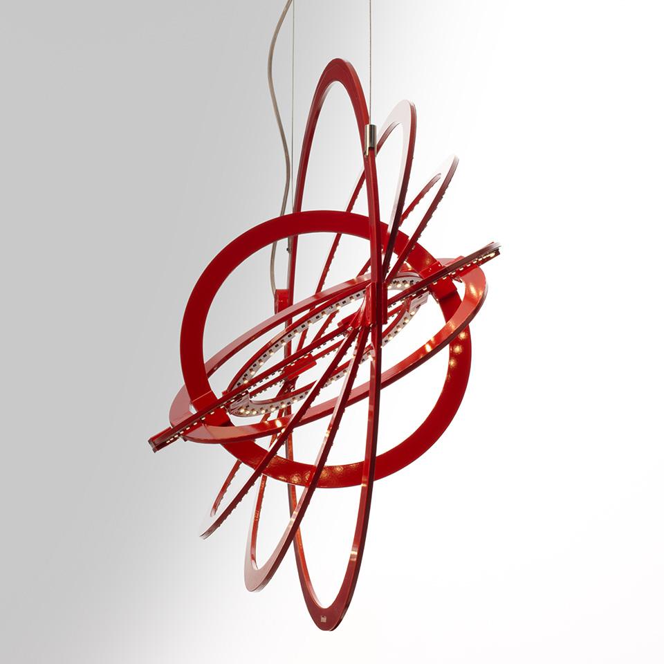 Copernico 500, luminario suspendido, ©Artemide.