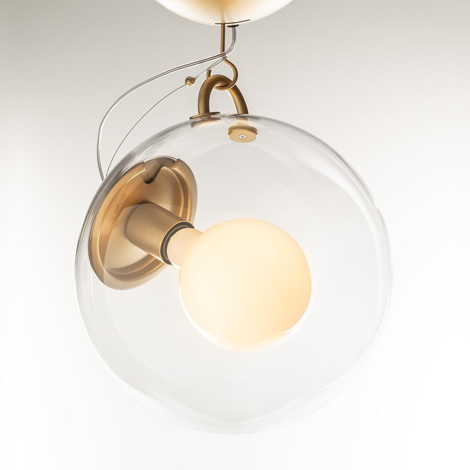 Miconos, luminario suspendido, ©Artemide